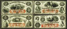 Sommerset & Worcester Savings Bank. 1862.