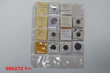 Austrian States and Austria Coin Assortment.