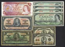 Dominion and Bank of Canada Issues.