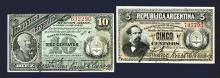 Republica Argentina Banknote Pair.