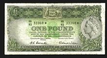 Commonwealth of Australia, ND (1953-60) Replacement / Star Note.