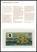 Reserve Bank of Australia, 1988 Commemorative Polymer Notes.