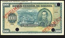 Banco Central De Bolivia, 1928