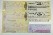 Bank of British North America Proof and Specimen Draft and Exchange Assortment ca.1850-60.