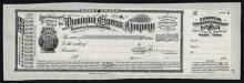 Dominion Express Company Proof Money Order.