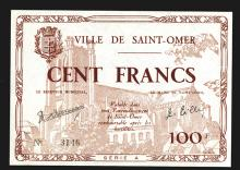 Saint Omer 100 Francs
