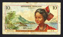 Republique Francaise Issued Banknote.
