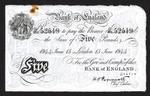 Bank of England, 1934 Issue.