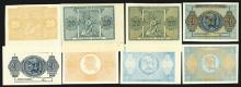 Bank of Greece 1942 Inflation Issue Progress Proofs.