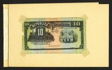 Republica Del Paraguay 1920 Progress Proofs.