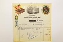 Tobacco & Cigar Related Letterheads.
