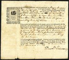 Trinidad Cargo Receipt ca.1804