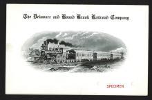 Delaware & Bound Brook Railroad Co. Menu