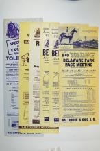 Baltimore & Ohio Railroad Advertising Broadside.