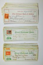 First National Bank of Suffield Check selection