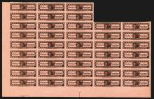 Barclay & Co., ca.1880's Tax label Sheet