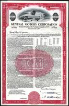 General Motors Corp. 1954 Specimen Bond.