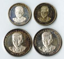 John F. Kennedy Silver Rounds.