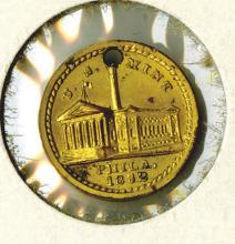 U.S. Mint 1832 medallette
