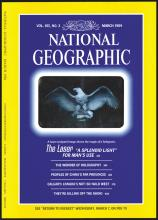 National Geographic with Hologram cover