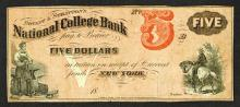 Bryant & Stratton's National College Bank College Currency.