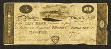 City Bank, 1819 Obsolete Banknote.