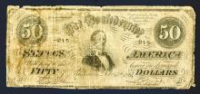 Confederate States of America, 1864 Issue with Extremely Low 3 Digit Serial Number