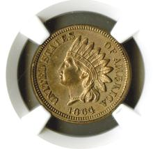 Cent, 1864 Copper Nickel, NGC AU Details, improperly cleaned.