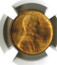 Lincoln Cent, 1909 VDB, NGC MS64 RB