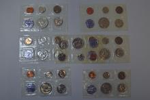 U.S. Proof Set Assortment, 7 sets, 35 coins.