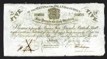 States of the Island of Jersey Bearer Bond. 1840.