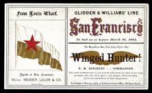 Glidden & Williams' Line - San Francisco,