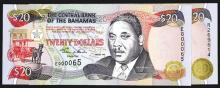 Central Bank of the Bahamas. 1997-2000 Issue.