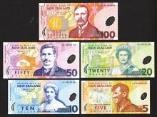 Reserve Bank of New Zealand, 1999 Polymer Type Set