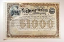 New Jersey & New York Railroad Co., 1892. and others.