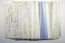 Fiscal Correspondence from Banks in New York State, 1850s-1860s