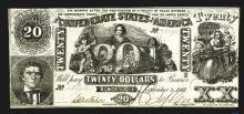 Confederate States. 20 Dollars. 1861.