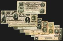 Confederate States. 1-500 Dollars, 1864.