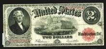 Legal Tender Note. 1917 Series. 2 Dollars.