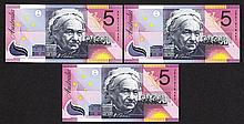 Reserve Bank of Australia, 2001 Commemorative Issue.