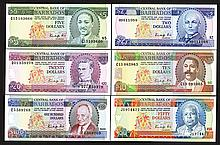 Central Bank of Barbados. 1986-89 ND Issue.