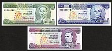 Central Bank of Barbados. 1993-94 ND Issue.