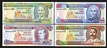 Central Bank of Barbados. 1995-96 ND Issue.