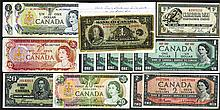 Bank of Canada, 1935-1979 issues.