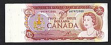 Bank of Canada. 1974 Issue.