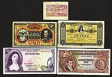 Banco de la Republica and other issues.