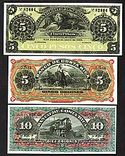 Banco de Costa Rica. 1899, 1901 Issues.