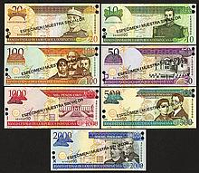 Dominican Republic, Banco Central de la Republica Dominicana. 2002 Issue.