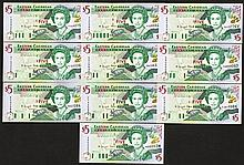 East Caribbean Central Bank. 2000 ND Issue.