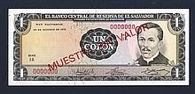 Banco Central de Reserva de el Salvador. 1972.